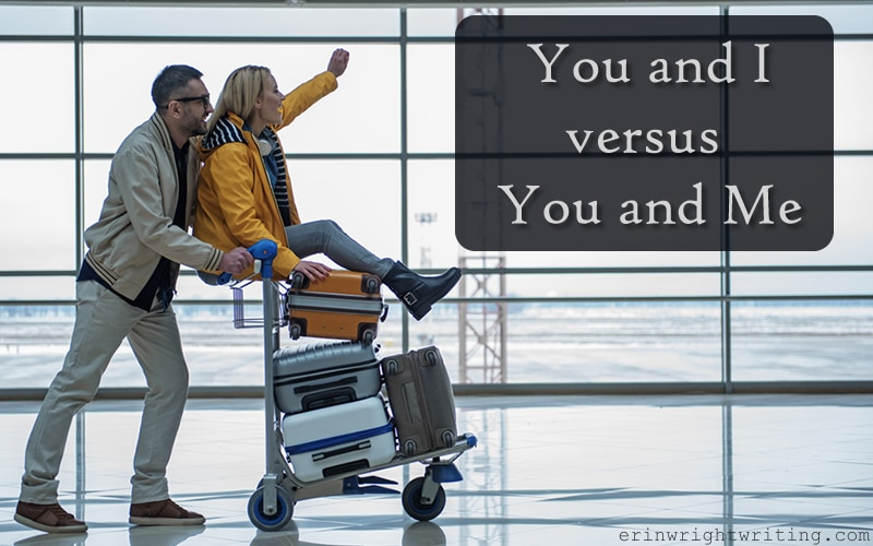 Image of Man and Woman at Airport | You and I versus You and Me