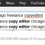 Google redlines copyeditor