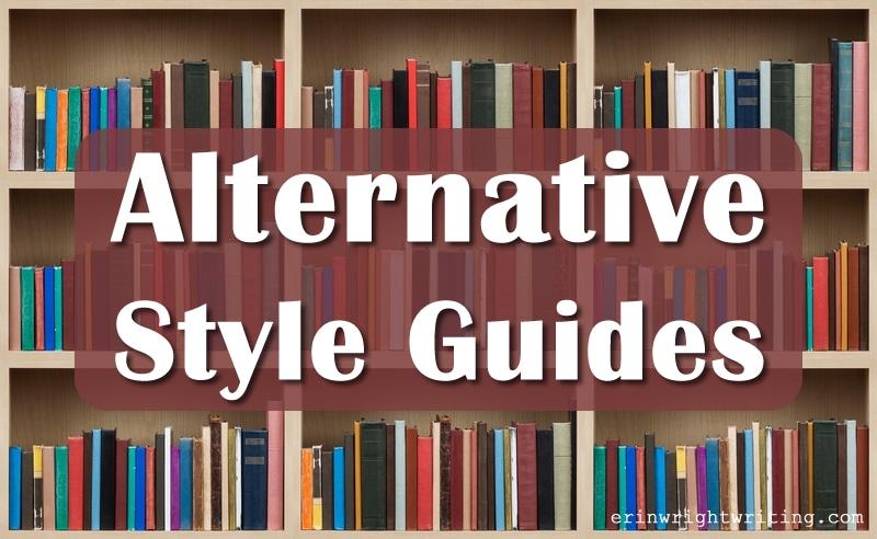 Alternative Style Guides | Books on shelves