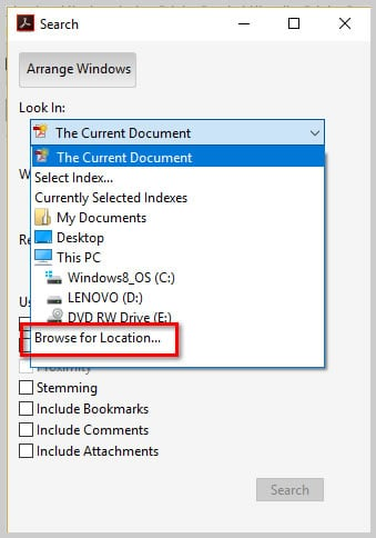 How to Search Multiple PDFs with Adobe Acrobat's Advanced