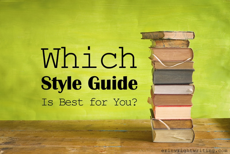 Image of Stack of Books | Which Style Guide Is Best for You?
