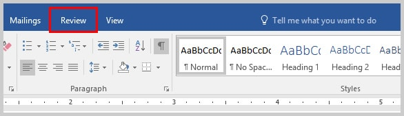 Image of Word 2016 Review Tab | How to Use the Passive Voice Tool in Microsoft Word 2016