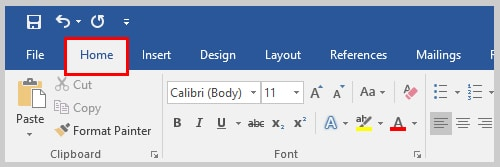 Word 2016 Home Tab | How to Indent Paragraphs in Microsoft Word