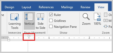 Word 2016 Top Ruler Marker | Three Ways to Indent Paragraphs in Microsoft Word