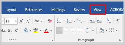 Word 2016 View Tab | Three Ways to Indent Paragraphs in Microsoft Word