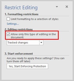 Microsoft Word 2016 Restrict Editing Task Pane | How to Restrict Editing in Microsoft Word