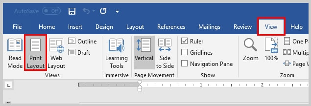 Image of Microsoft Word View Tab | How to View Specific Reviewers' Comments and Edits in Microsoft Word