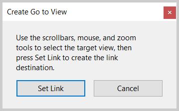 Adobe Acrobat Create Go to View dialog box