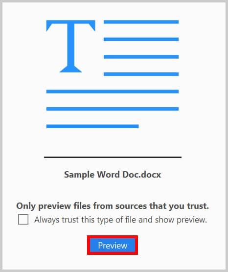 Portfolio Preview Button in Adobe Acrobat